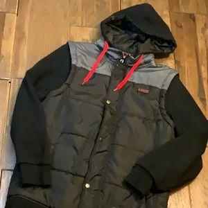 Line ski vest hoodie combo. Size medium